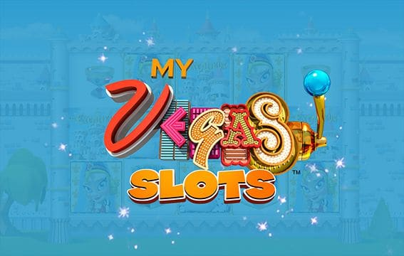 Image of myVEGAS Slots mobile app cover.